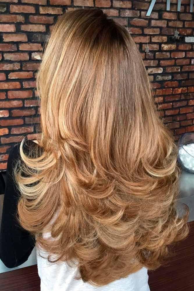 Прическа каскад на длинные волосы фото